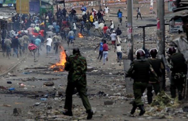 Fighting tribalism in Kenya: even the police come from a given tribe