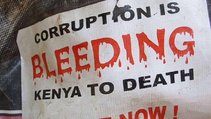 we should fight corruption in Kenya