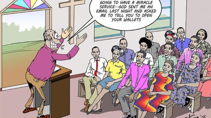 Churches in Kenya the greatest fraud third eye blogs