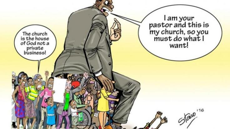 churches have become a place of business